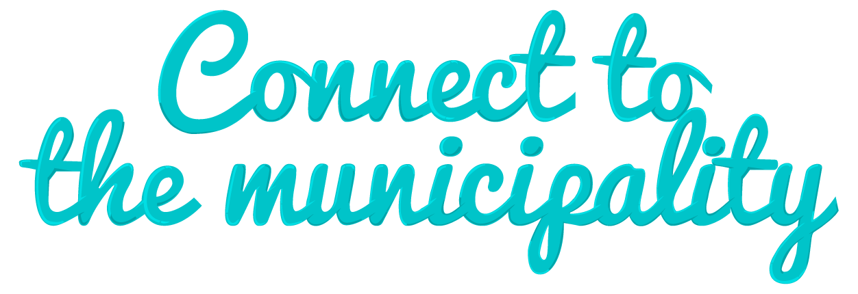 Connect to the municipality