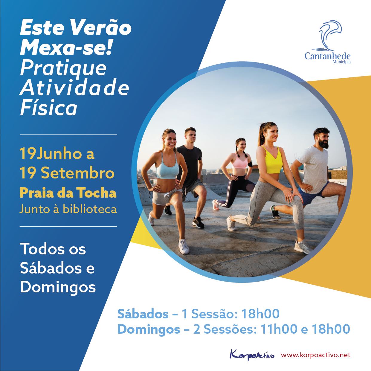 Atividades desportivas e recreativas na Praia da Tocha