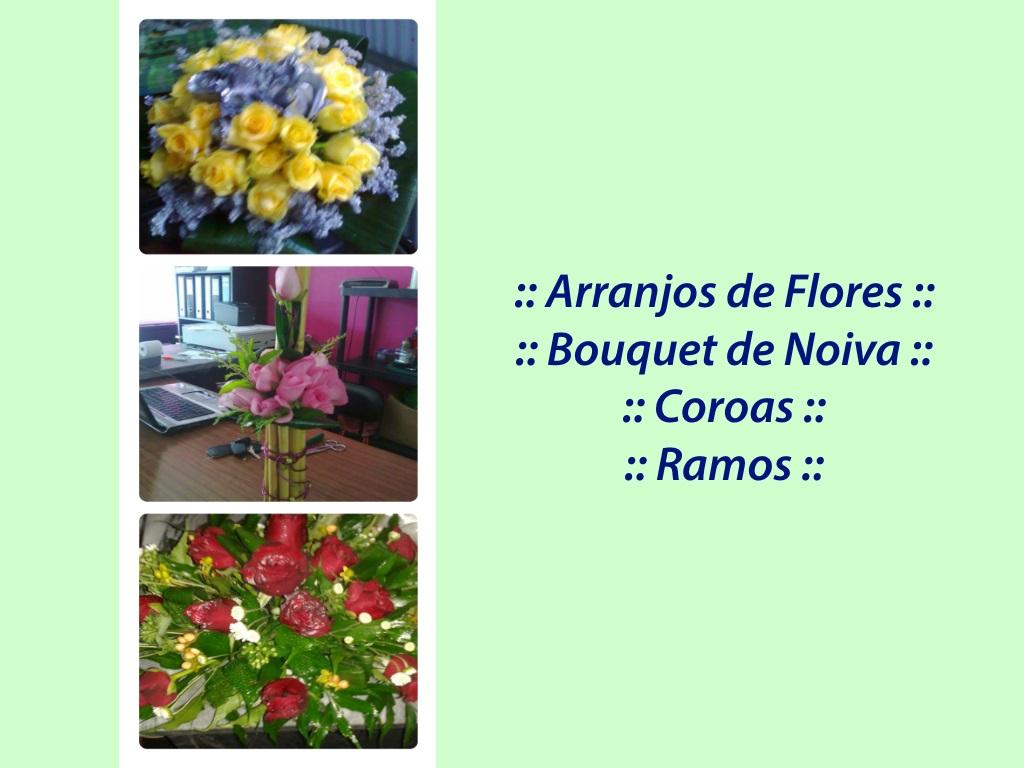:: Arranjos de Flores e Decoração ::