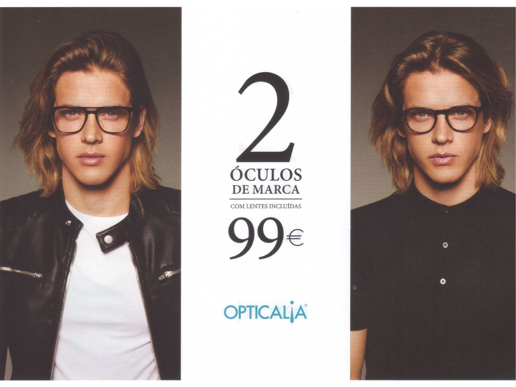 2 Óculos de Marca c/ lentes incluídas - 99€