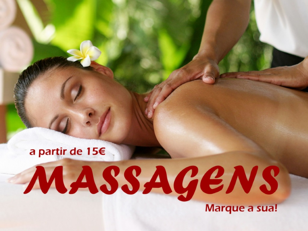 MASSAGENS a partir 15€