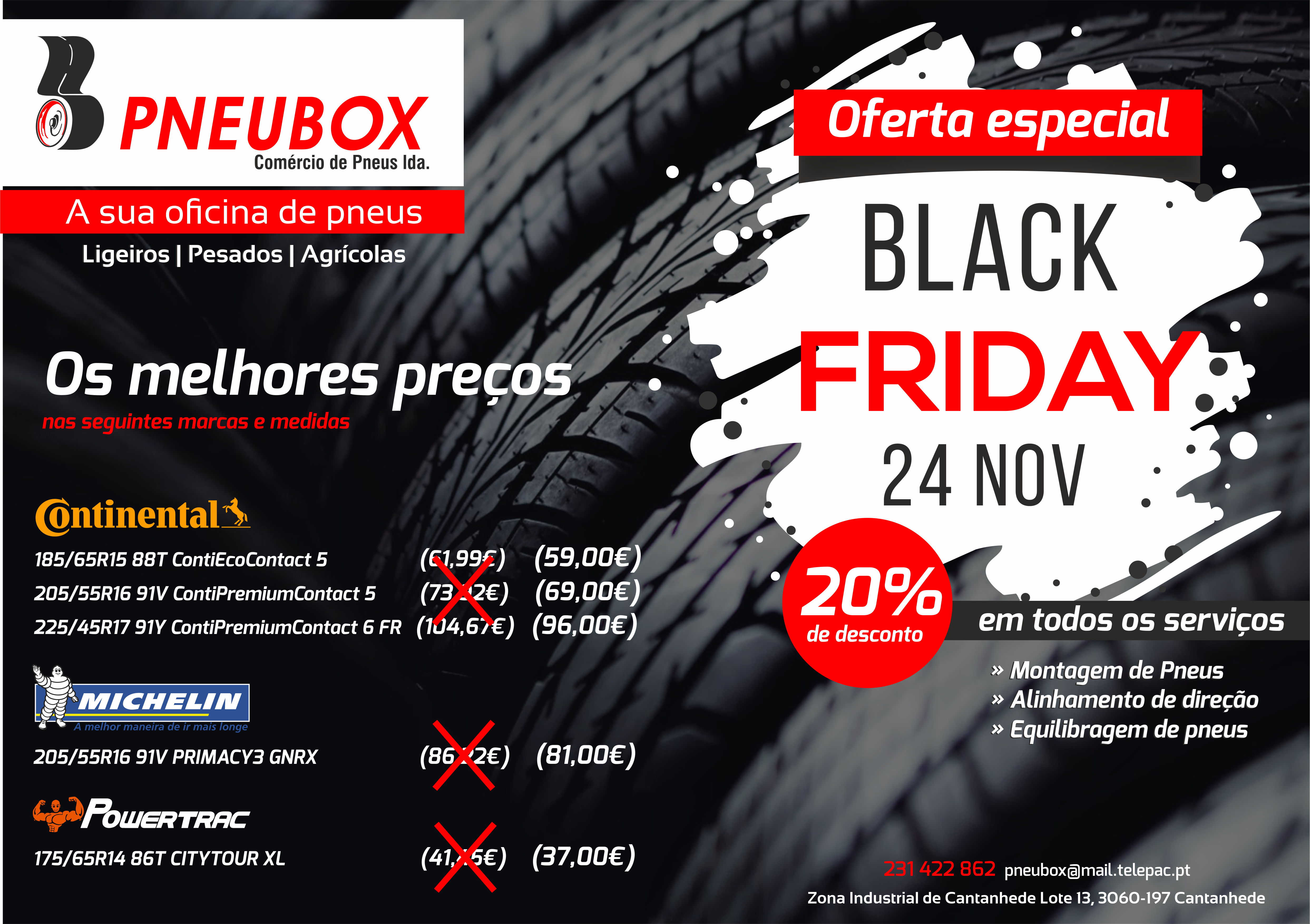 Campanha Black Friday - PNEUBOX