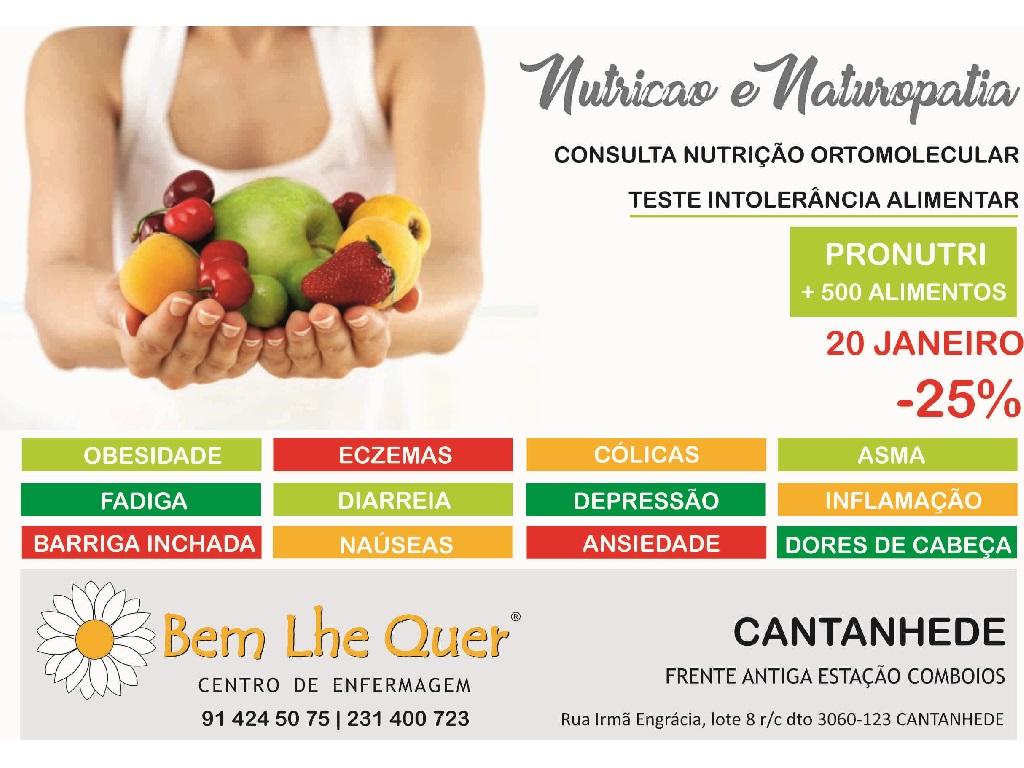 Nutrição e Naturopatia