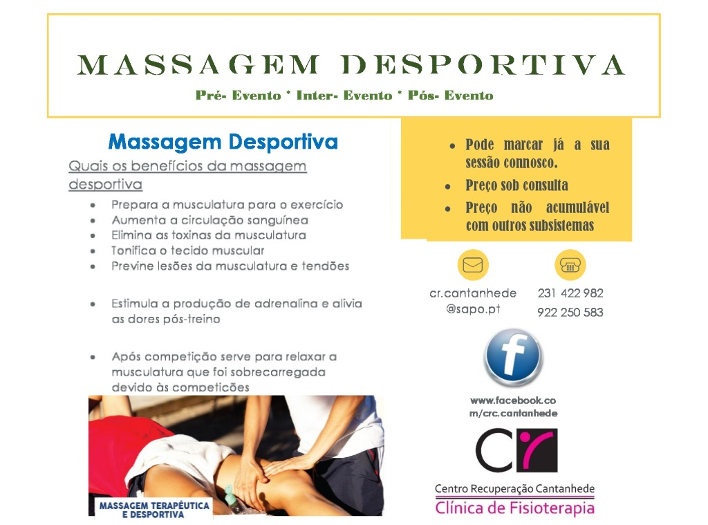 Massagem Desportiva
