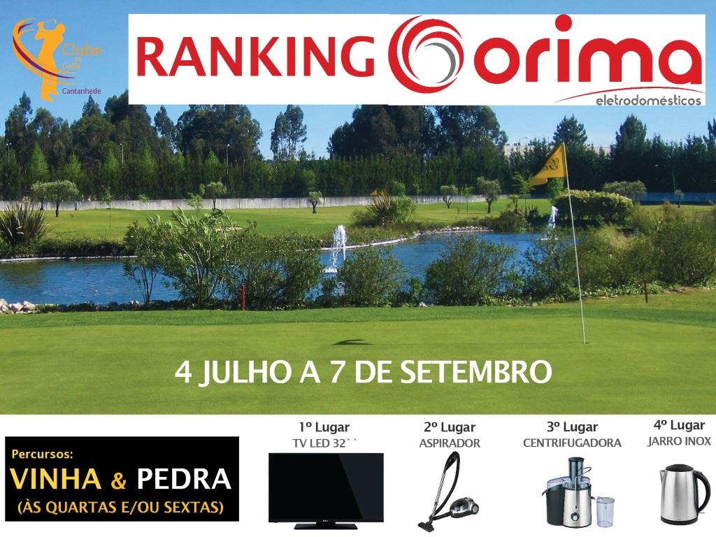 Golfe - Ranking ORIMA