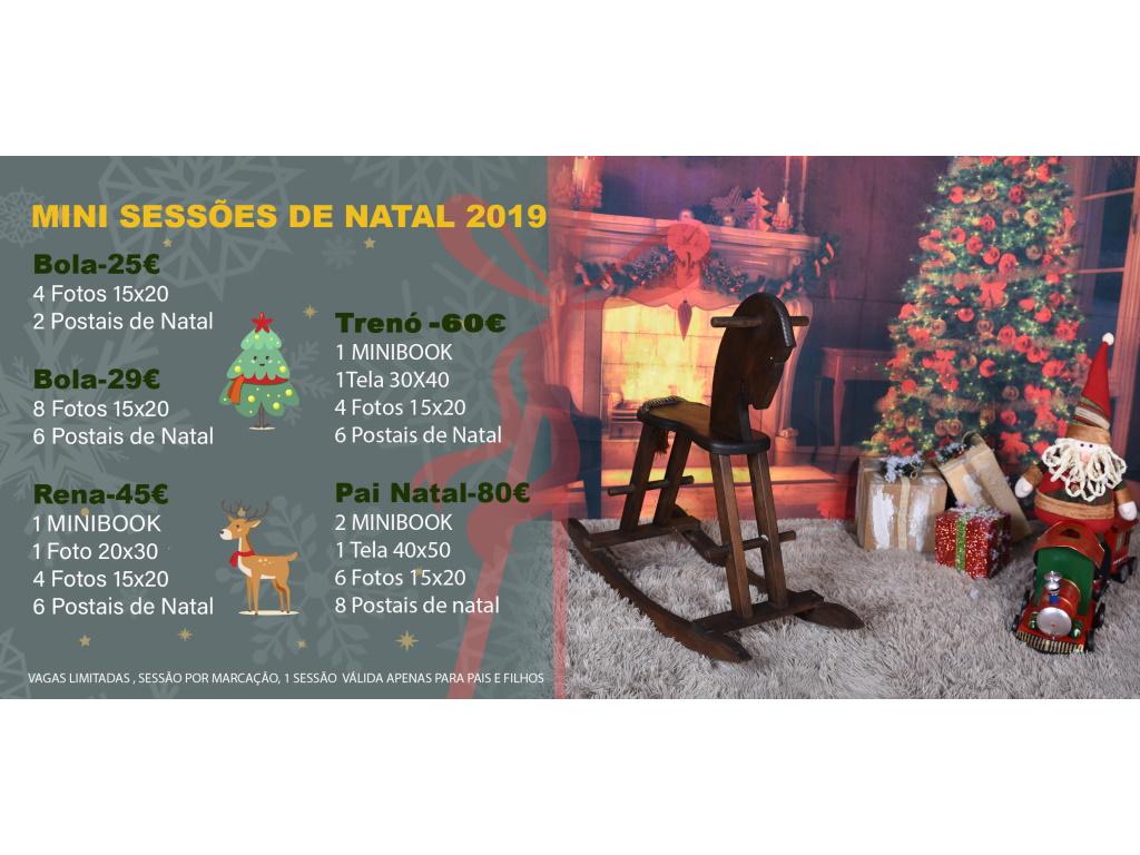 Mini Sessões de Natal
