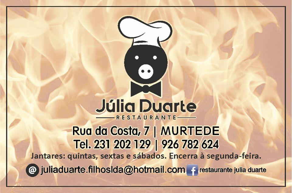 Júlia Duarte- restaurante